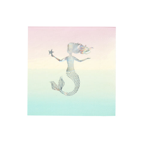 Paper Napkins Mermaid Party 16pk - This Little Party