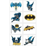 Temporary Tattoos Batman Party Favour 8pk - This Little Party