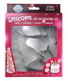 Unicorn Cake Fondant Cookie Cutter Decorating Set - This Little Party