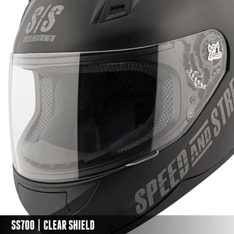 Speed & Strength SS7/10/11/12/15 Clear Faceshield (874068)