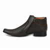men high ankle brown wedding dress shoes