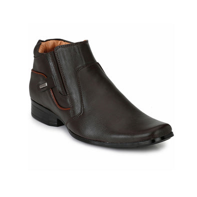 mens brown high ankle shoes online india