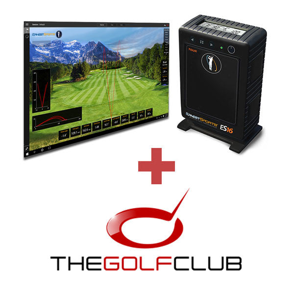 ErnestSports ES16 + The Golf Club Simulation Software