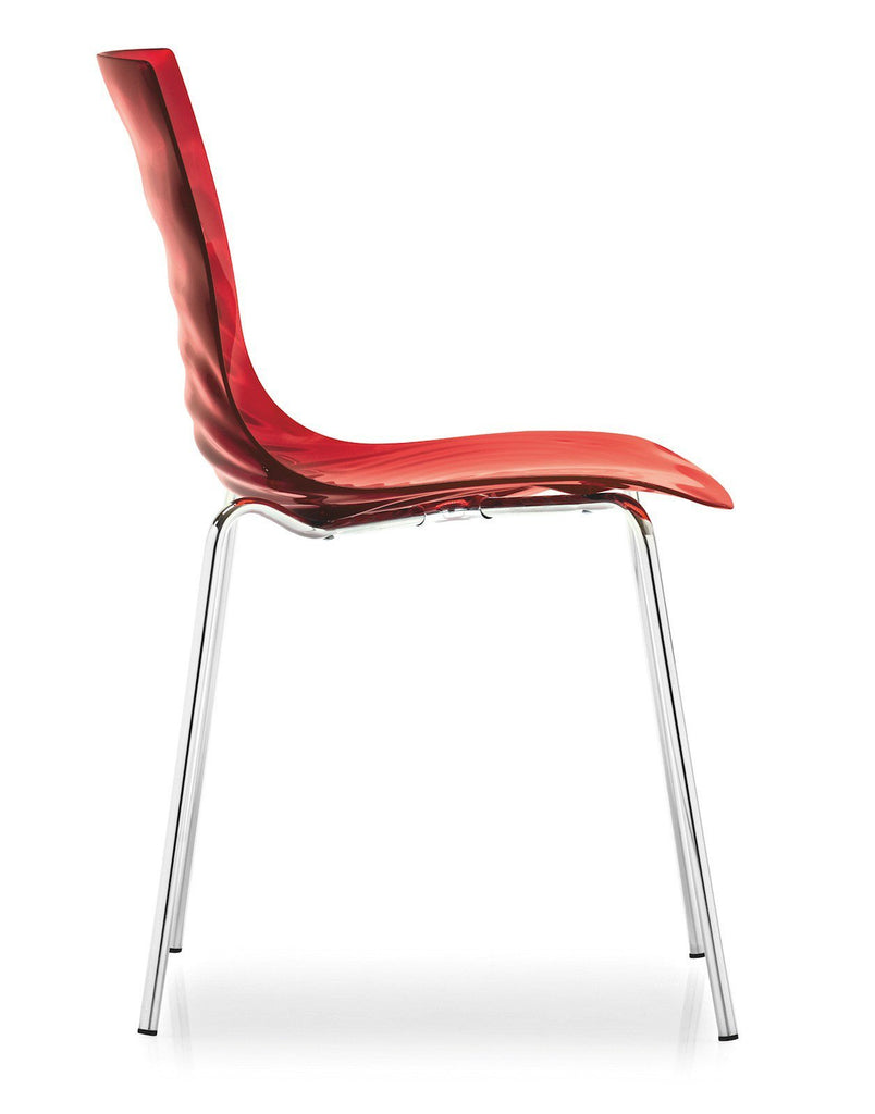 Calligaris L'eau Stackable Chair  : www.decorelo.co.uk