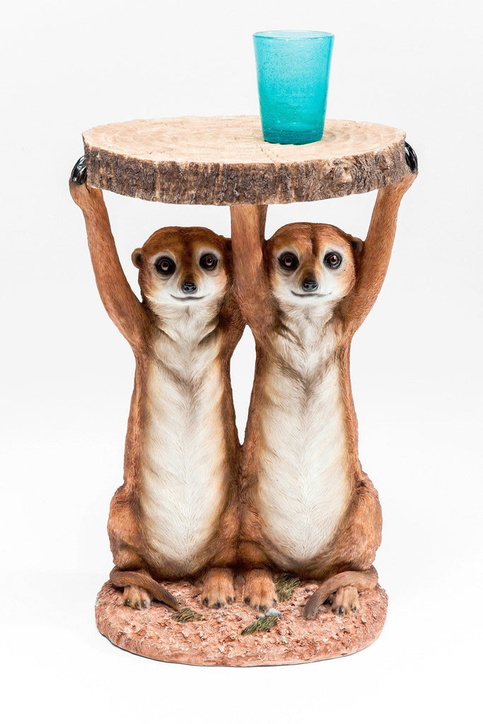 Meerkat Sisters Side Table  : www.decorelo.co.uk