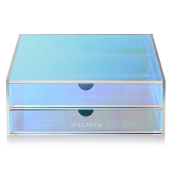 Oceana Two Drawer Acrylic Storage