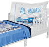 All Aboard Toddler Bedding Set
