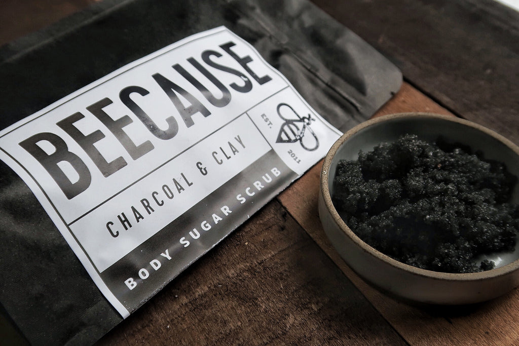 Charcoal & Clay Body Scrub
