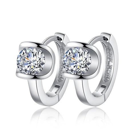 Angel Kiss Crystal Stud Women Earrings - Embrace Luxury