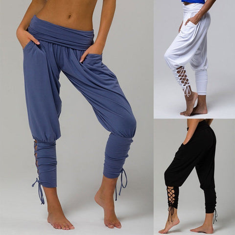 Loose Yoga Pants with pockets - Embrace Luxury