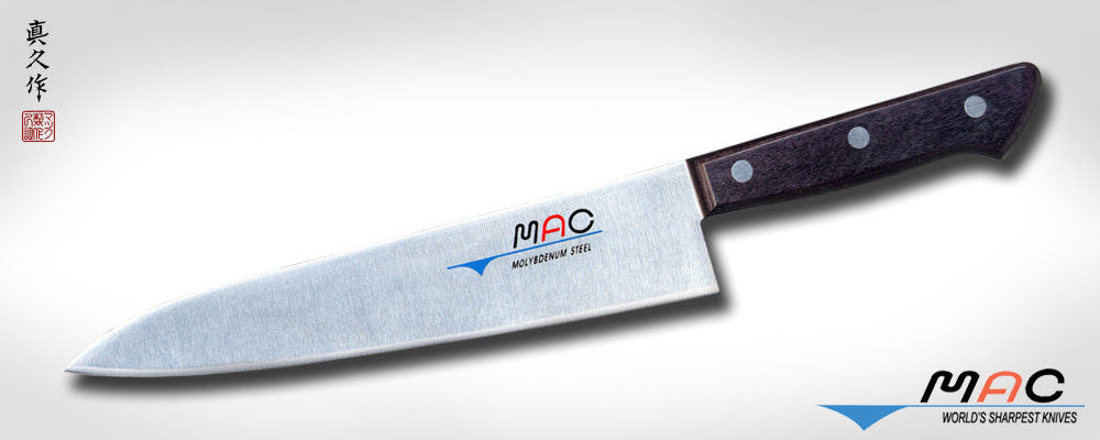"Chef Series 8 1/2"" Chef's Knife (HB-85) - MAC Knife"