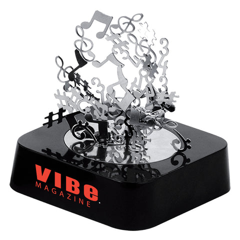 MI-0108MN  MUSIC NOTES MAGNETIC SCULPTURE BLOCK