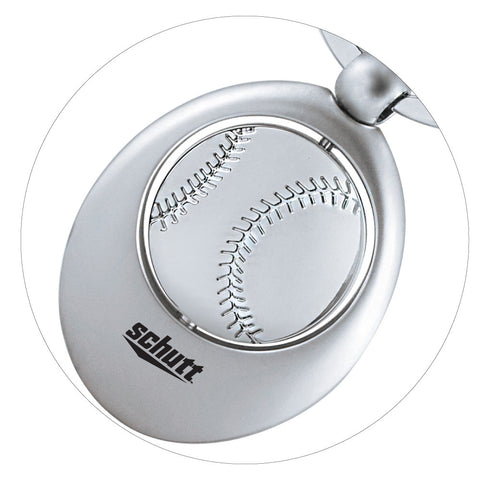 MI-0186BA  BASEBALL SWIVEL SPORTS KEY CHAIN