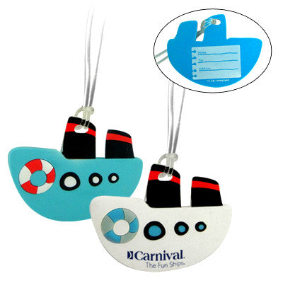 MI-0617  SOFT PVC BOAT LUGGAGE TAG