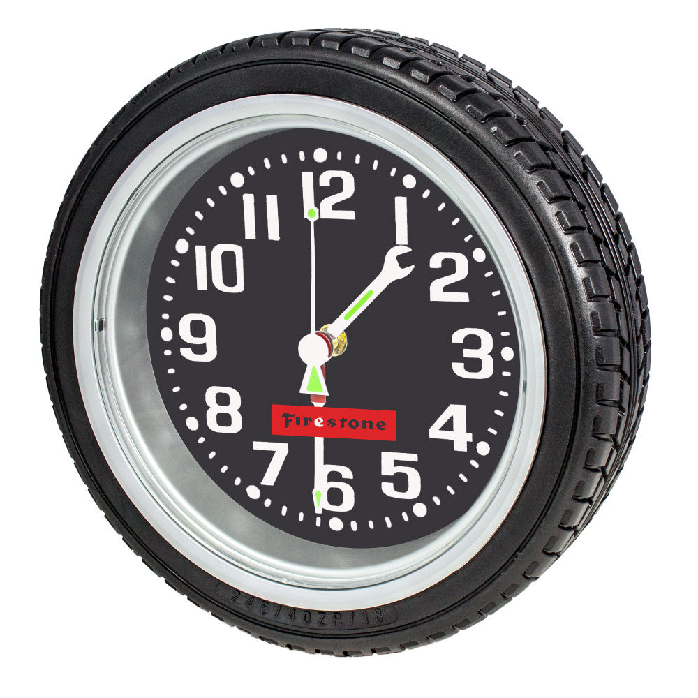 MI-608  TIRE WALL CLOCK