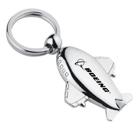 MI-727  METAL AIRPLANE KEYCHAIN