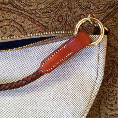 Horse brow band clutch purse