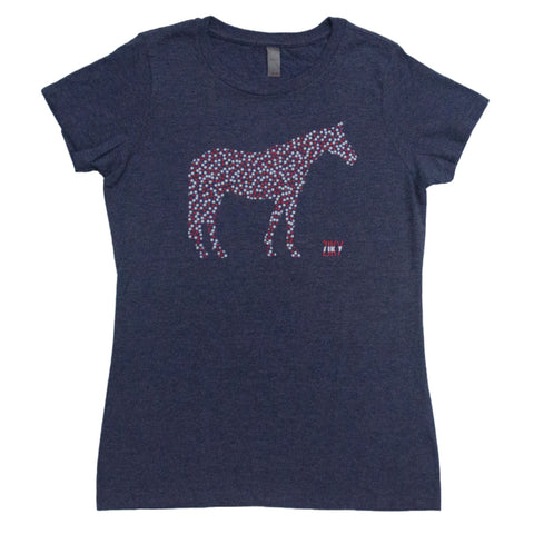 Equestrian shirt for horse back riders