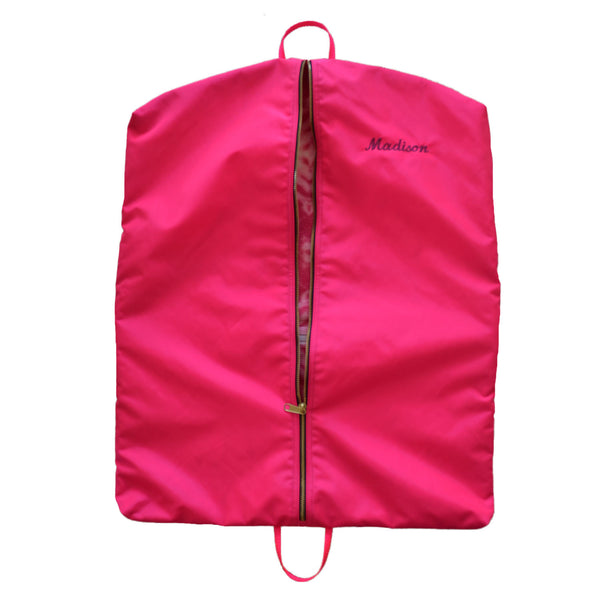 custom garment bag for children