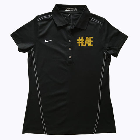 #LAE performance polo by Nike