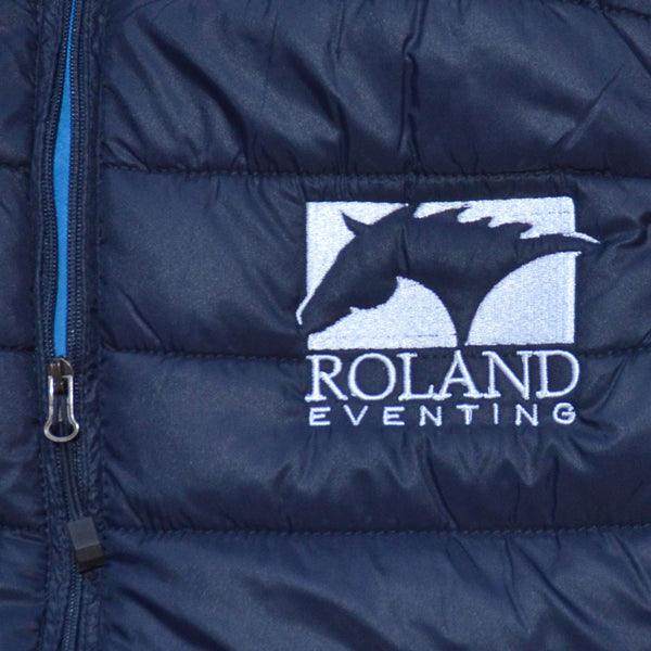 Embroidered horse back riding vest