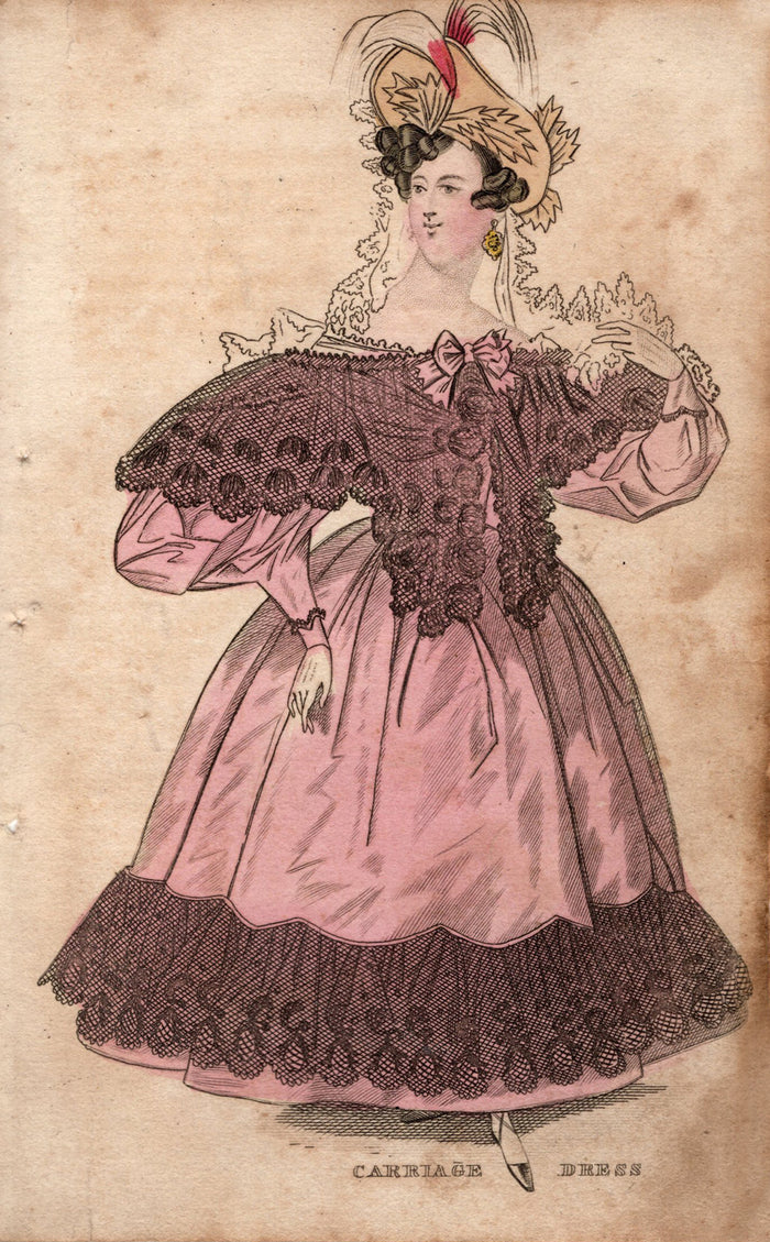 Carriage Dress – 1833