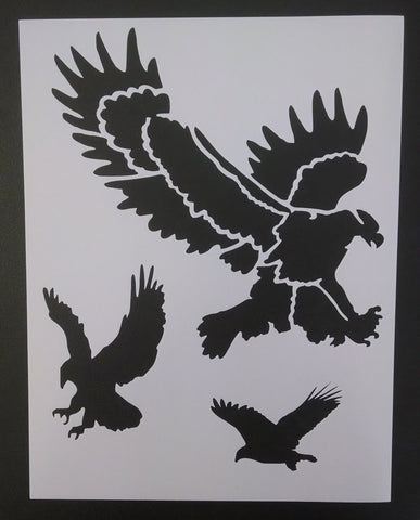 Bald Eagles - Stencil