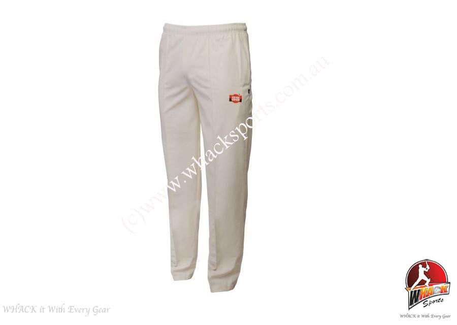 SS Custom Cream Cricket Trouser Senior