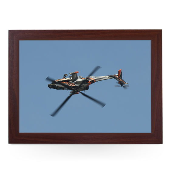 AgustaWestland Apache AH-64D Helicopter Lap Tray - AD14624