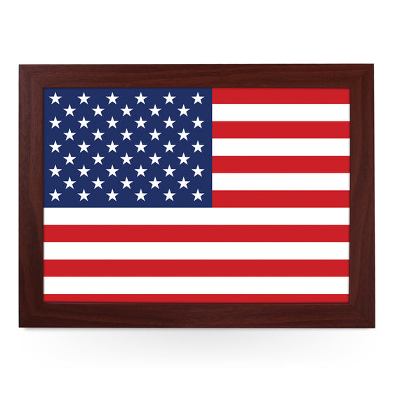 USA Flag Lap Tray - L0498
