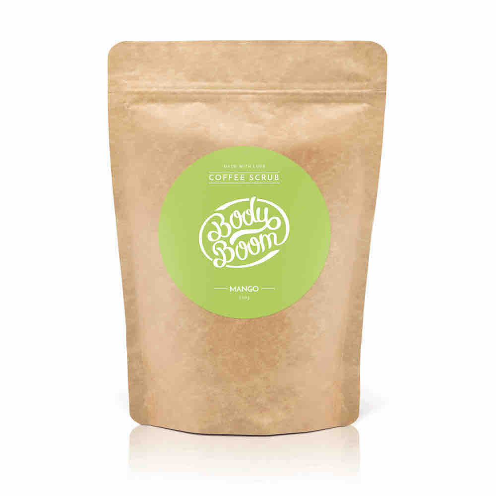 BODY BOOM Divine Mango Coffee Scrub 200g