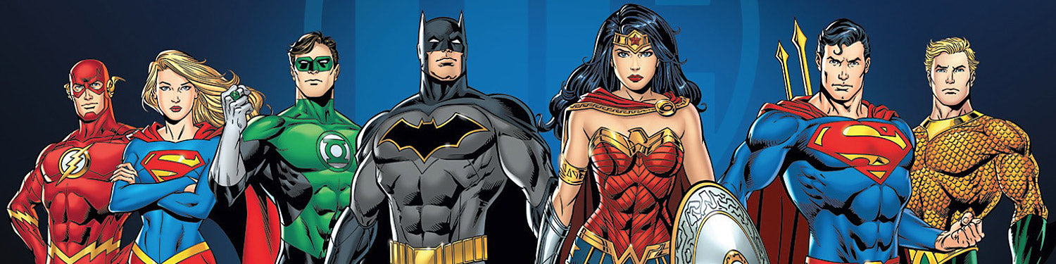DC Comics T-shirts, Hoodies, Mystery Boxes, Mugs, Posters and other accessories