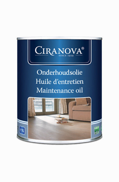 06   Maintenance Oil Clear