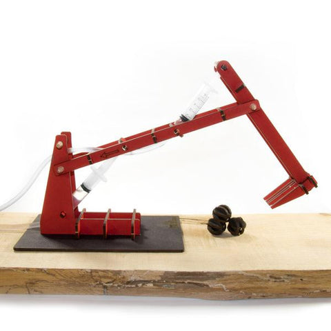 Wooden Toy Kit - Mini Digger with Rocks