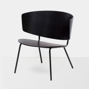 Chair - Ferm Living Herman Lounge Chair Black