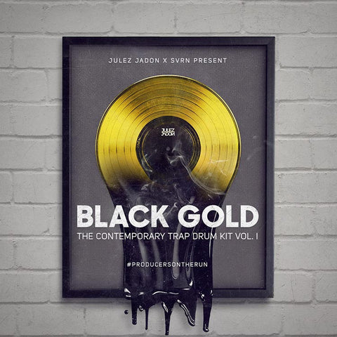 Black Gold: The Contemporary Trap Drum Kit Vol. I