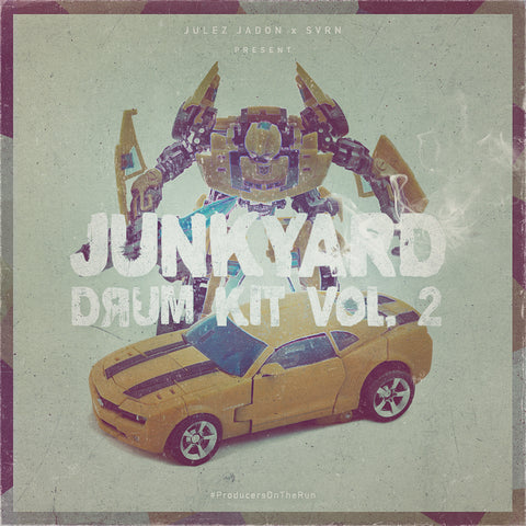 Junkyard Drum Kit Vol. 2