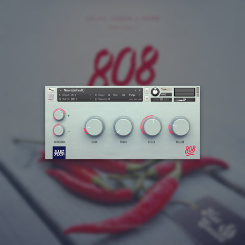 Hot Sauce: The 808 Pack Vol. II (WAV & Kontakt Format)