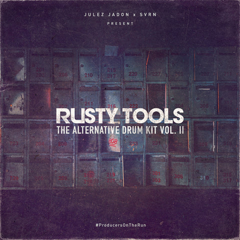 Rusty Tools: The Alternative Drum Kit Vol. II