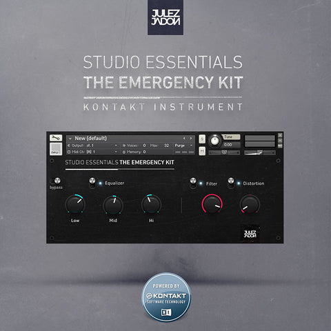 Studio Essentials: The Emergency Kit (Kontakt Format)