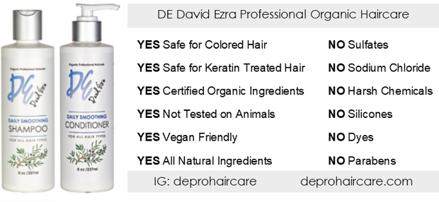 David Ezra DE Pro Daily Smoothing Shampoo