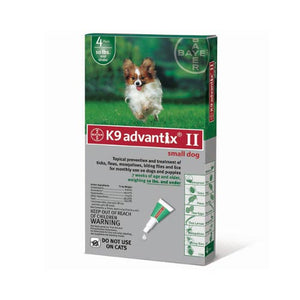 Flea and Tick Control for Dogs Under 10 lbs 4 Month Supply