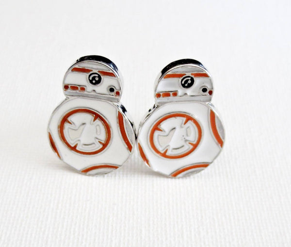 BB-8 Star Wars Cufflinks - Groomsmen Groom Wedding Gift For Him