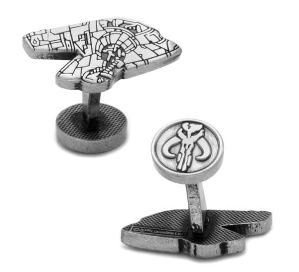 Boba Fett Slave I Cufflinks BY STAR WARS - Groomsmen Groom Wedding Gift For Him