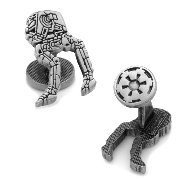 AT-ST Walker Cufflinks BY STAR WARS - Groomsmen Groom Wedding Gift For Him
