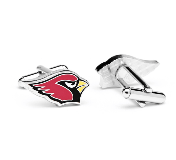 Arizona Cardinals Football Cufflinks BY NFL - Groomsmen Groom Wedding Gift For Him