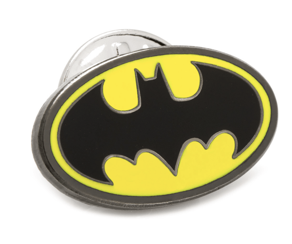 Batman Lapel Pin BY DC COMICS - Groomsmen Groom Wedding Gift For Him