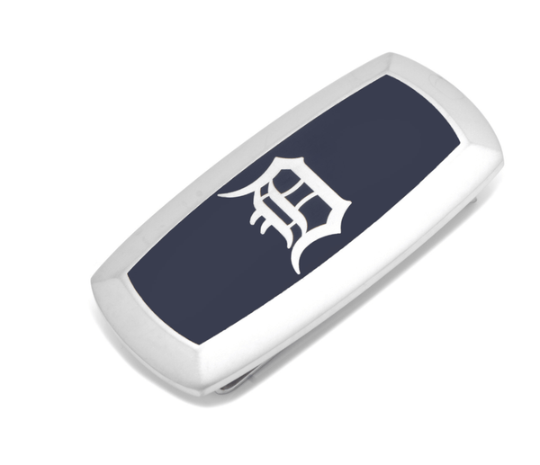 Detroit Tigers Cushion Money Clip BY MLB - Groomsmen Groom Wedding Gift For Him