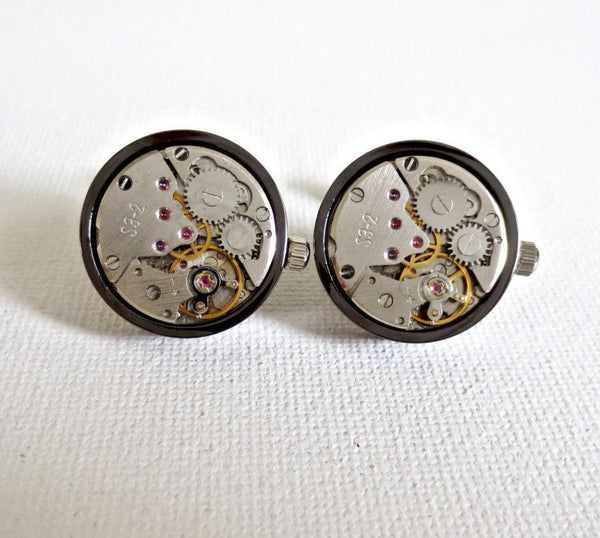 Working Watch Cufflinks - MarkandMetal.com