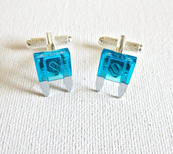 Electrical Engineer Cufflinks - Groomsmen Groom Wedding Gift For Him